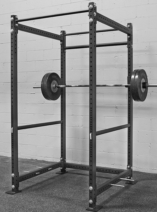 The Rogue Fitness R-4 Infinity-line Power Rack