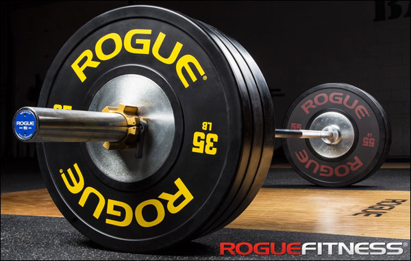 Largest selection of bumper plates and weights at Rogue Fitness