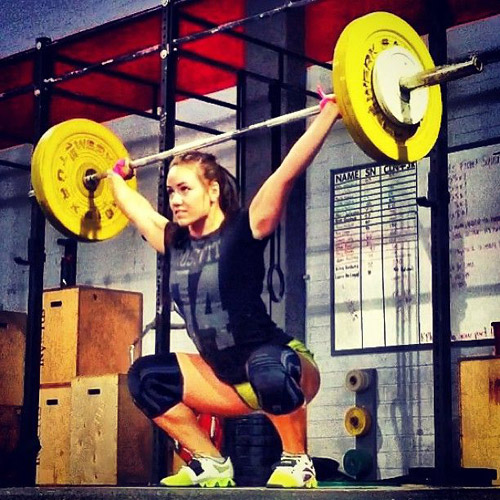 Great snatch form - champion form actually #Camille #Games #snatch