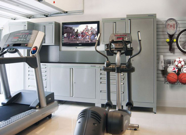 Inspirational garage gyms amp ideas gallery pg home garage