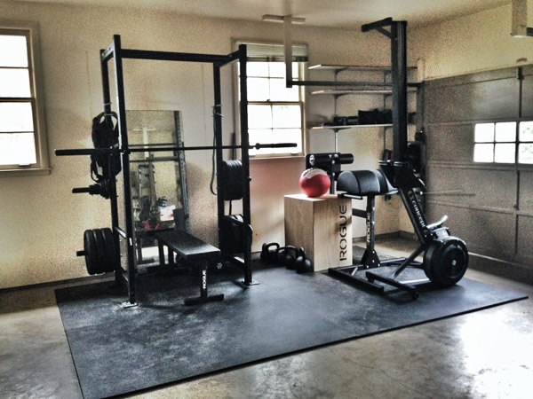 crossfit garage gym ideas - Garage Gym Inspirations & Ideas Gallery Pg 2