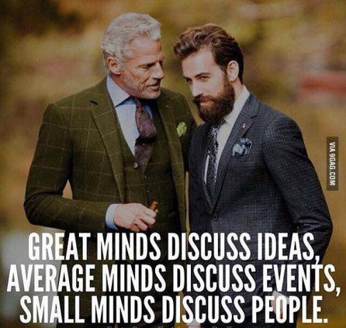 Great Minds #classy #dignified #meme