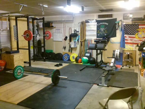Garage Gym Photos