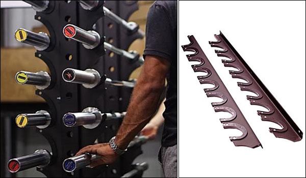 Vulcan 8 Bar Olympic Bar Gun Rack