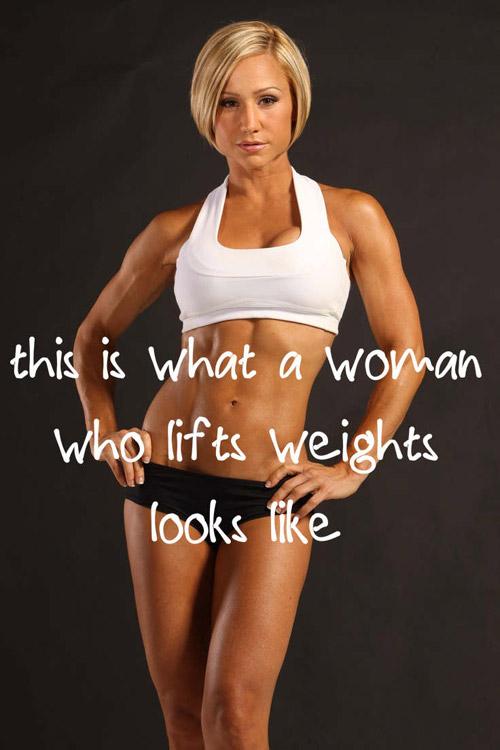 women who train are hot #bodybuilding #female
