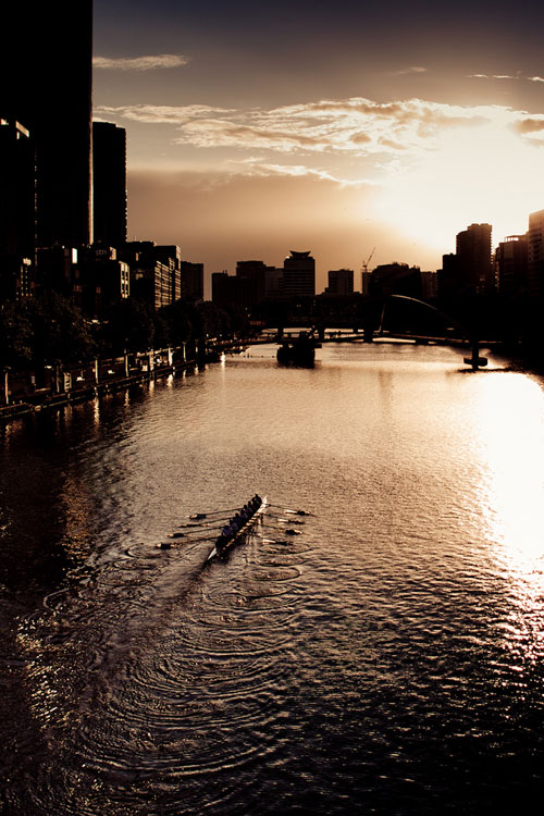 While you were still sleeping... #rowing #breakofdawn #motivate