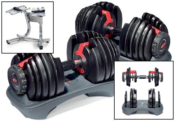 Bowflex Adjustable Dumbbell Set