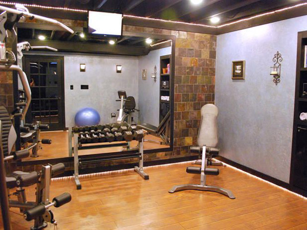 Inspirational Garage Gym Images   Nice Small Home Gym
