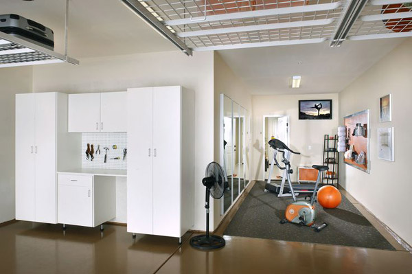Inspirational garage gym - little nook of a gym