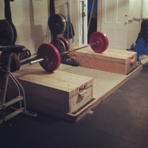 custom jerk boxes and lifting platform