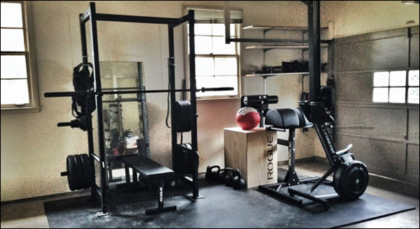 Build a home gym in that you will actually use