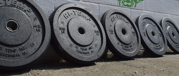 hi-temp bumper plates set