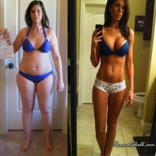 Brilliant transformation - before and after