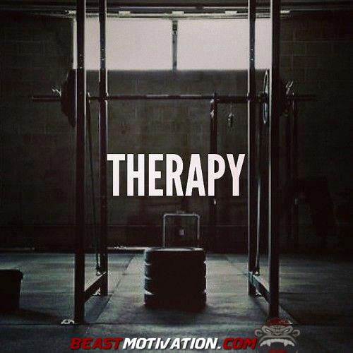 Therapy - When life kicks your ass, go lift