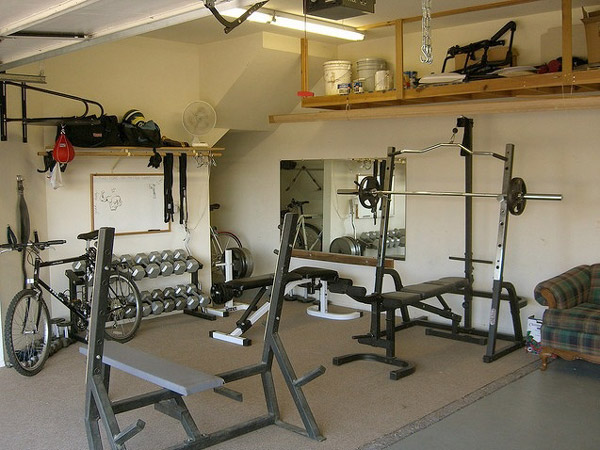This is a very nice garage gym - very clean, organized, lots of gear. very very nice
