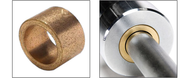 Sintered Bronze Bushings for Barbells