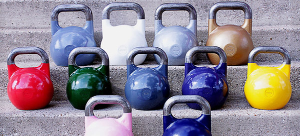 Ader Pro Competition Kettlebells at Rogue Fitness
