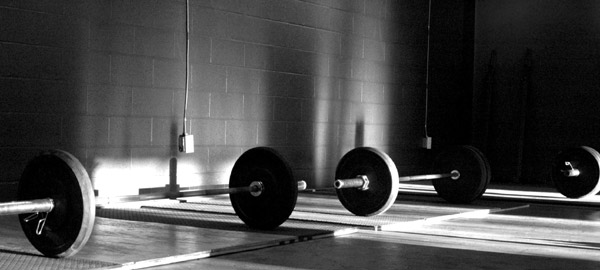 Just a random neat black and white crossfit gym pic