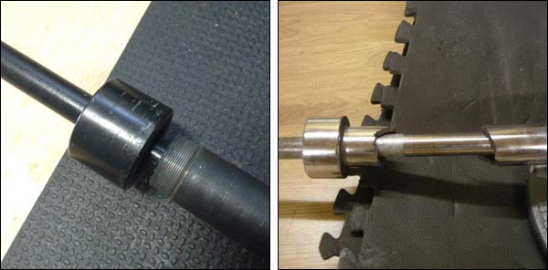 Examples of broken Olympic barbells and why quality steel is important
