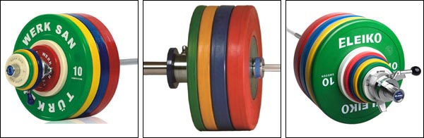 Various Competition Bumper Plates