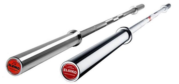 The Eleiko Powerlifting Barbells
