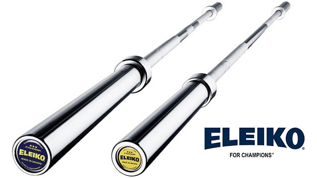 Eleiko Sport Training Bar for men or women