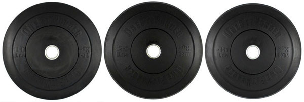 OFW Bumper Plate Sets from Fringesport - Not HI-Temp, just high tech