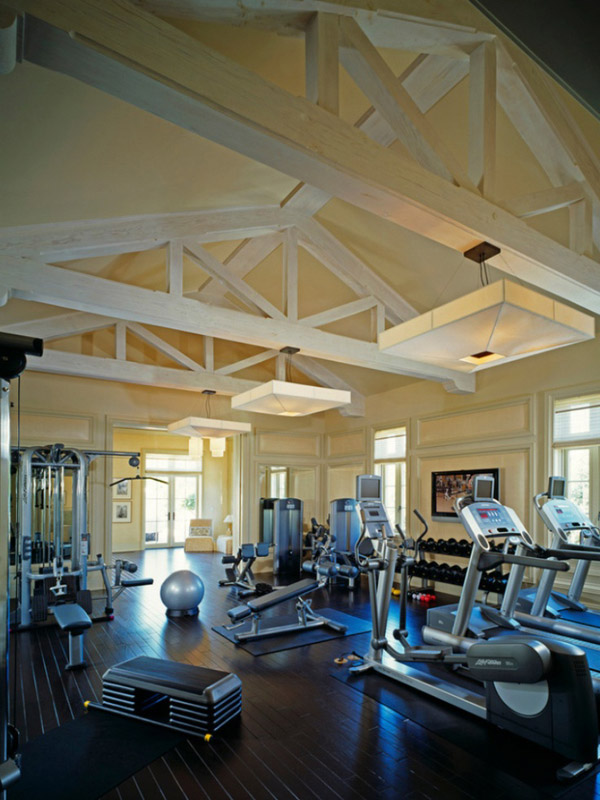 How the other half live home gym