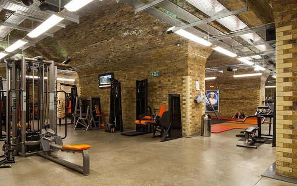 Ok it's not a garage gym, but its a pretty badass gym