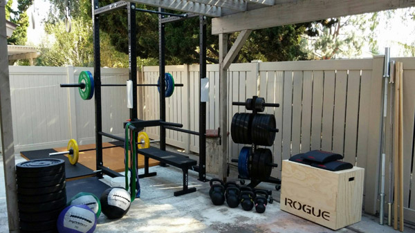 Beau Killer Backyard Gym With All The Rogue Trimmings