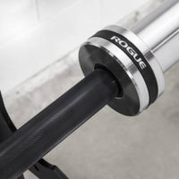 Rogue Bar 2.0 machine-grooved collars
