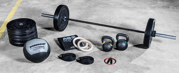 The Rogue Bravo Crossfit Package: a nearly complete package for beginning a Crossfit routine at home