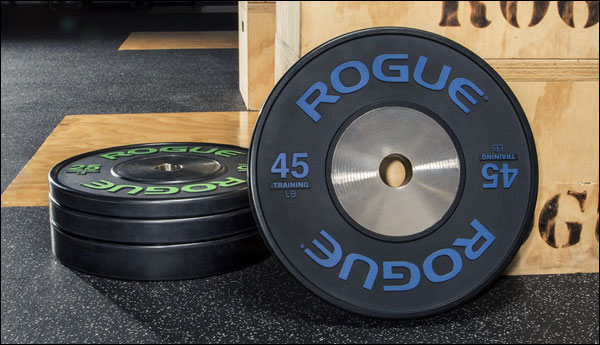 Beautiful new Rogue Training Bumpers, in pounds!