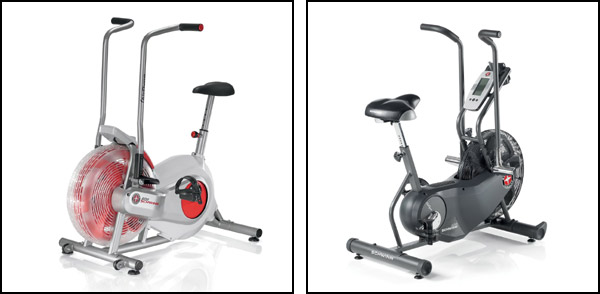 The Schwinn Airdyne Bikes, the AD2 and the AD6