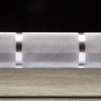 SS Ohio bar dual-marked, knurl detail