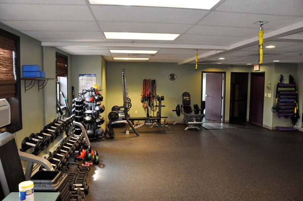 Lots of floor space for your WOD here