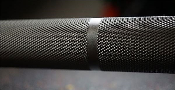 Vulcan Absolute Power Bar - Knurling close-up