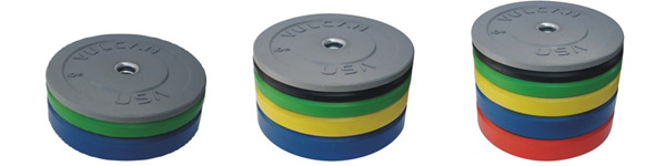 Colored Basic Bumper Plates