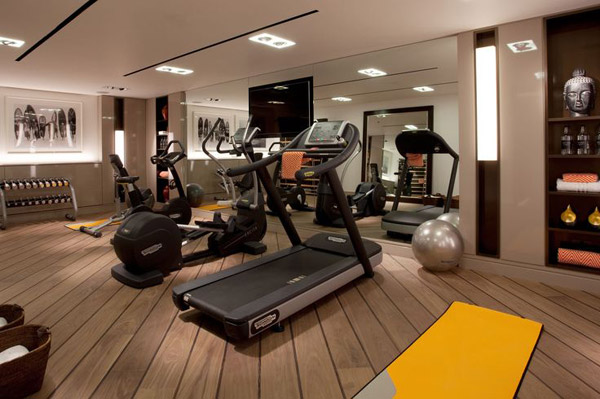 Not really a weight-slinging gym, but its nice and classy. Some of us do cardio too