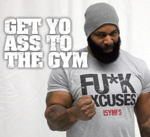 Motivational image gallery page garage gyms