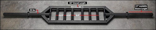 Rogue MG-1 Multi-grip Bar v2