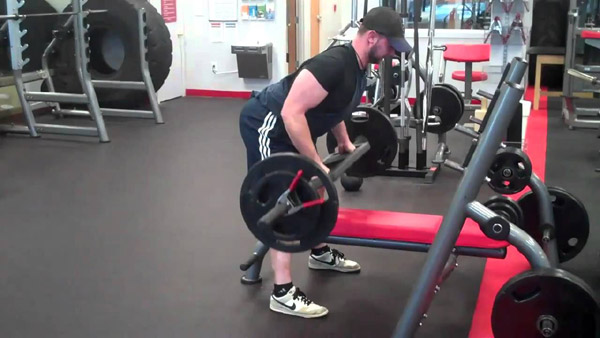 Add upper back variation by using the MG1 to row