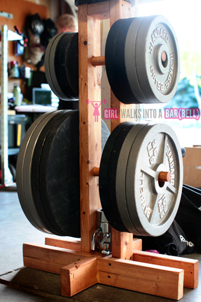 Diy Plate Storage Projects – Garage Gym Organization