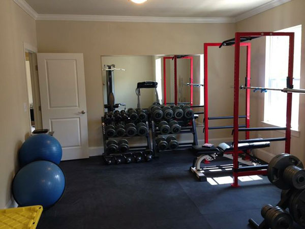 Inspirational Garage Gyms Amp Ideas Gallery Pg 8 Garage Gyms