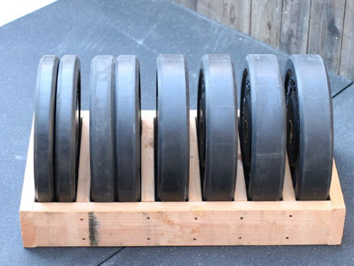 Diy plate storage projects garage gym organization diy bumper plate storage 2 storage box solutioingenieria Gallery
