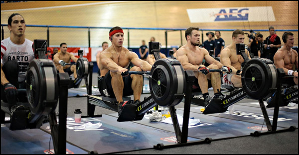 Why Crossfit rows, and why Crossfit uses the Concept 2 Rower