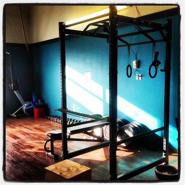 Nice CrossFit Gym - great wood floors, R4 rack, even a rower