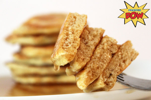 Protein Pancakes for Men - A super high protein breakfast normally only high in carbs