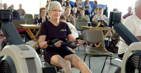 Rowing is low impact cardio that can be done by people of all ages and varying fitness levels