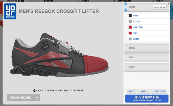 Customized Reebok Crossfit Lifters, by me!